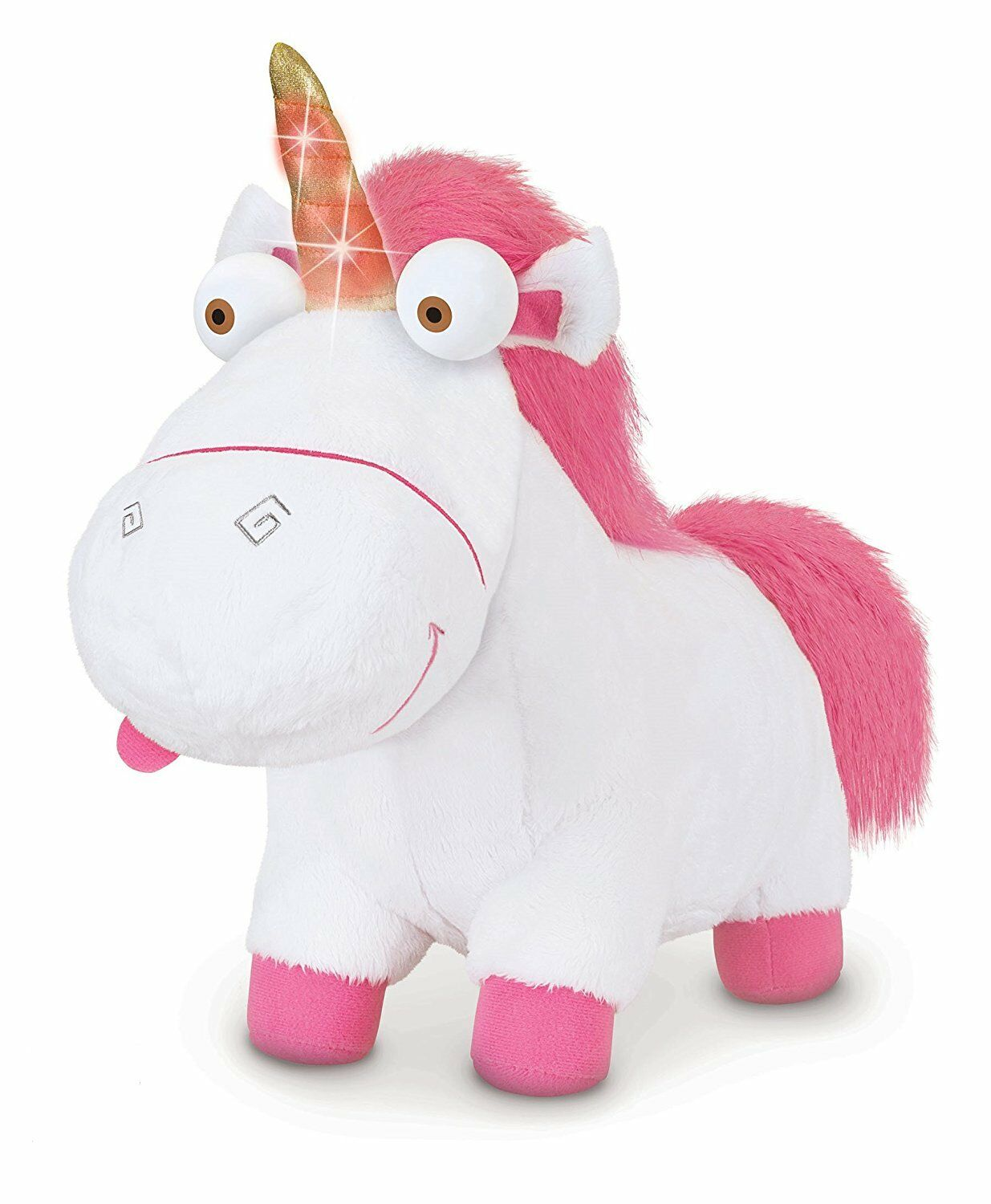 Despicable Me 3 Light-Up Fluffy Unicorn Plush