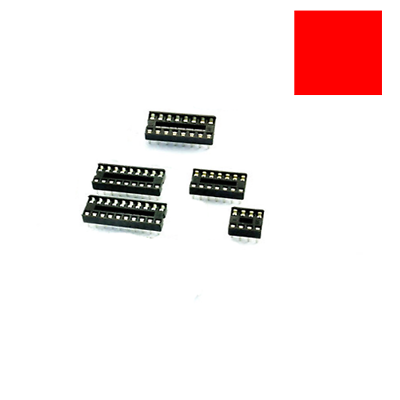 20PCS 40-Pin DIL DIP IC Socket PCB Mount Connector NEW High quality