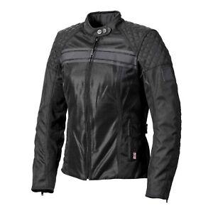GENUINE-Triumph-Ladies-Waldron-Black-Mesh-Summer-Motorcycle-Jacket-NEW