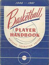 Basketball Player Handbook 1946-1947 National Federation Edition Rules