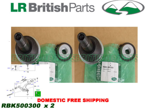 LAND ROVER FRONT LOWER CONTROL ARM BALL JOINT RANGE R SPORT 05-13 SET RBK500300
