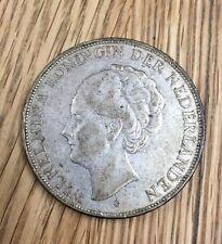 Münze 2 1/2 Gulden Niederlande 1932 Wilhelmina
