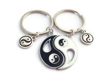 Ying Yang Keyrings Best Friends His Hers Couples Keychains Set Yin And Yang Pair