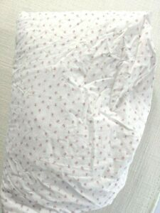 SIMPLY-SHABBY-CHIC-MON-AMI-Twin-Fitted-Sheet-Pink-French-Country-Floral-Rosebud