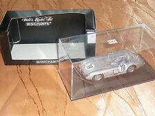Minichamps Mercedes 300 SLR in Silber Le Mans 1955 J.M. Fangio