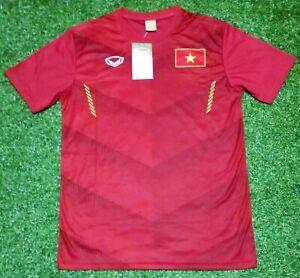Original-Vietnam-National-Football-Soccer-Team-Fan-Jersey-Shirt-Red-2016-17