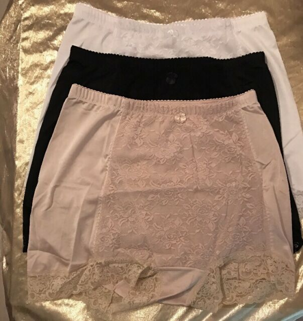 NWOT-3 Pack Rhonda Shear 'Pin*Up' Girl Control Panties Lacy Size 2X