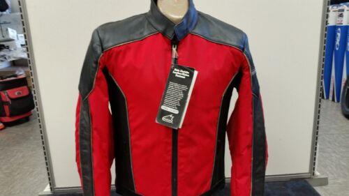 Hein Gericke Cobra Street Motorcycle Jacket men/'s Medium Leather// Nylon Red
