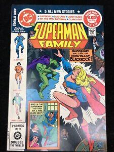 SUPERMAN-FAMILY-212-DC-1981-SUPERGIRL-VS-BLACKROCK-9-2-NM