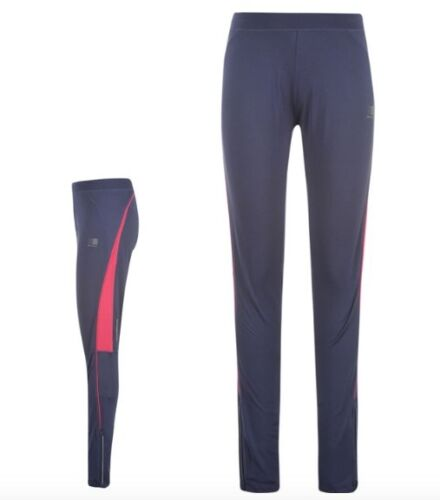 Karrimor Damen Lauf Jogging Hose Tight lang Blau Pink alle Größen Neu