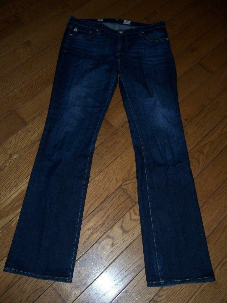 ADRIANO goldSCHMIED BALLAD SLIM BOOT JEANS SIZE 32R LENGTH 34