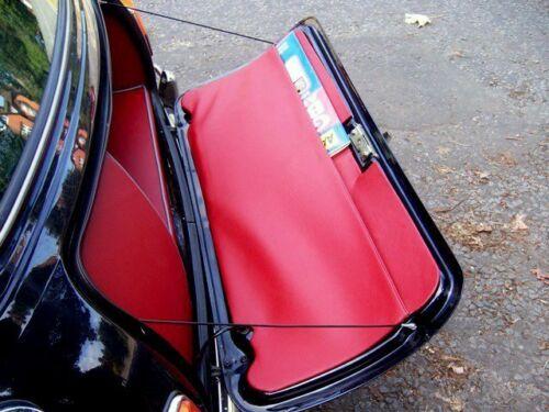 Mini Austin Rover Cooper La Garniture de malle arrière au vide-poche surpiqué