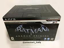 BATMAN ARKHAM ORIGINS COLLECTOR'S EDITION PS3 NUOVO SIGILLATO NEW REGION FREE