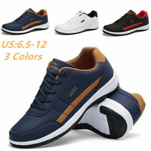 Men-039-s-Fashion-Casual-Shoes-Sports-Outdoor-Breathable-Tenis-Running-Flat-Sneakers