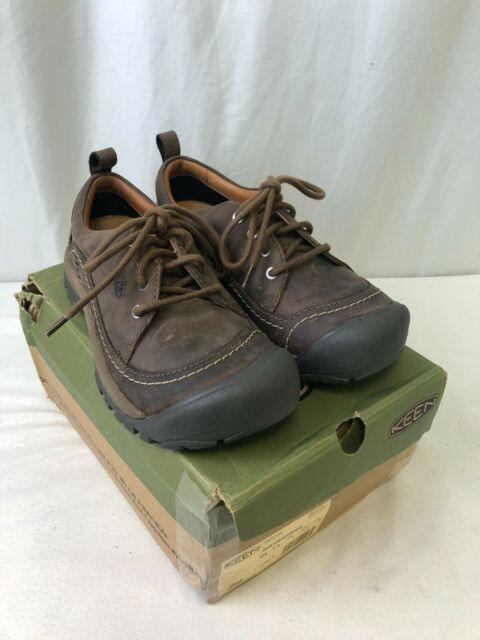 Keen Kaci II Oxford Casual Shoes Dark Earth/Canteen Size 7.5 (2104160326)