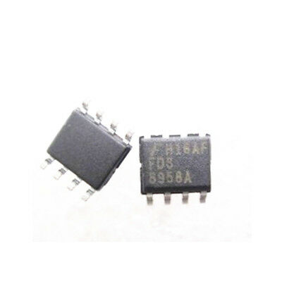 20 PCS FDS8958A SOP-8 FDS8958 8958A SMD-8 PowerTrench MOSFET