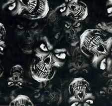 Hydrographic Film Water Transfer Hydrodipping Hydro Dip Evil Eye Skulls 1m