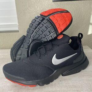 Nike PRESTO FLY Triple Black Silver Red