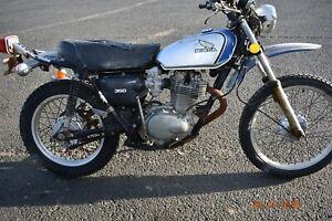 1974-Honda-Xl350-Classic-Motorcycle-NO-RESERVE