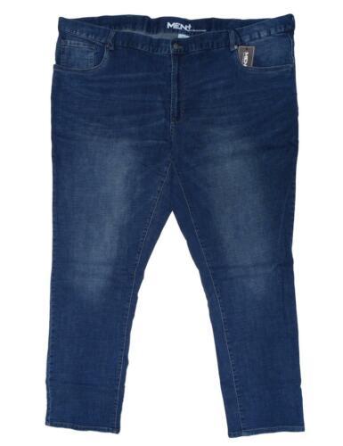 Nouveau kurzgröße Messieurs Stretch Jeans Bleu Slim Fit Modern Long Taille 33,34,35