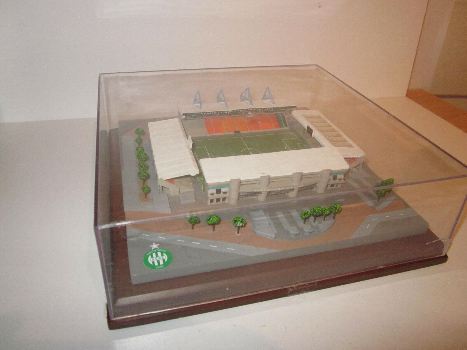STADE DE FOOTBALL Geoffroy Guichard ST ETIENNE Miniature modele rojouit Maquette