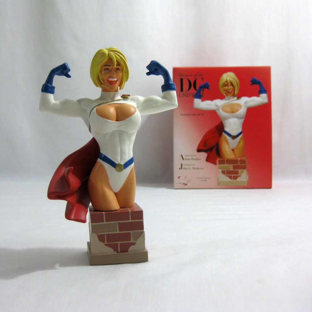 2007 DC Direct ✧ POWER GIRL ✧ Damens of the DC Universe Bust