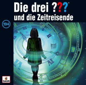 Die-Drei-Fragezeichen-Folge-194-Und-Die-Zeitreisende-CD-NEU-amp-OVP