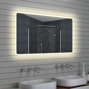 Details zu LED Beleuchtung Warm weiß licht Badezimmer Bad spiegel  Wandspiegel 40 - 140 cm