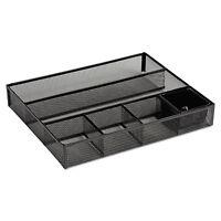 Rolodex Deep Desk Drawer Organizer Metal Mesh Black 22131 on sale