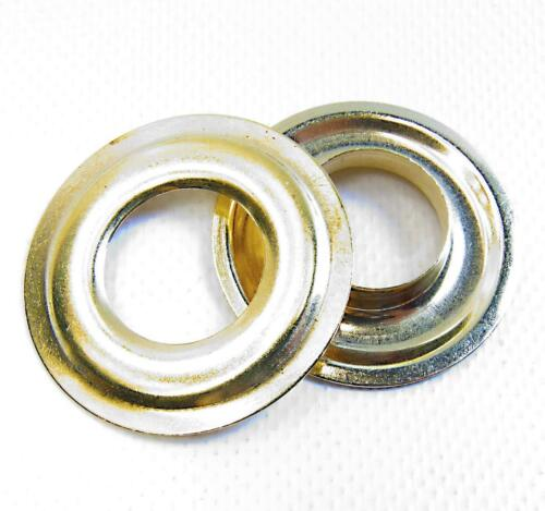 "Grommets #6 Plain Brass 13//16/"" 216-6 C.S Osborne Brand Shipped from The USA!"