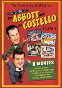 The-Best-of-Bud-Abbott-and-Lou-Costello-Volume-2-New-DVD-Boxed-Set-Slipsle