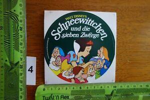 ADESIVI età Fumetto Walt Disney's Biancaneve e i sette nani