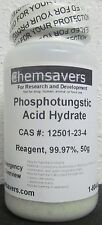 Phosphotungstic Acid Hydrate, Reagent, 99.97%, Certified, 50g