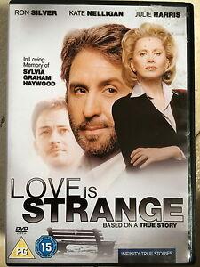 Love-is-Strange-DVD-1998-True-Life-Drama-TV-Movie-w-Ron-Silver-Kate-Nelligan
