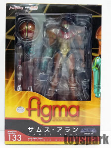 "New Samus Aran Figma Max Factory Action Figure /""Metroid Other M/"" 133 USA Seller"