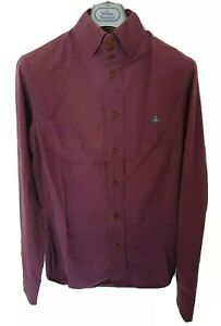 Mens-MAN-by-VIVIENNE-WESTWOOD-long-sleeve-shirt-size-II-medium-RRP-260