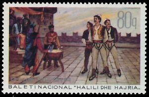 "pa62336 Chills And Pains mi1525 Albania 1401 - ""halili And Hajria"" National Ballet"
