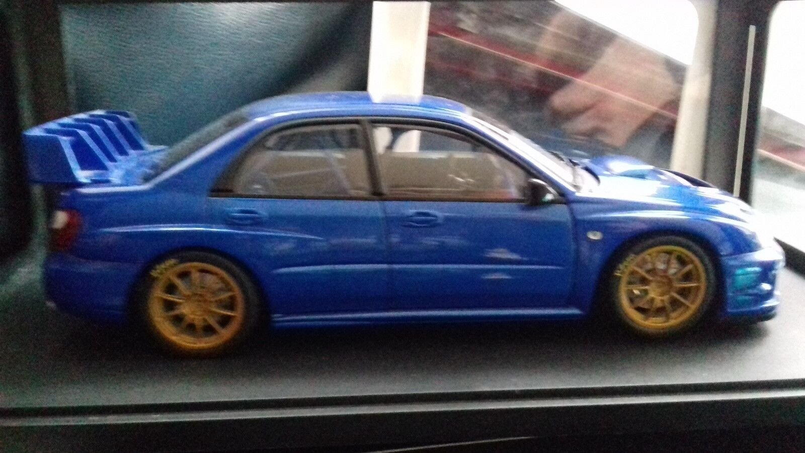 AUTO ART RACING DIVISION SUBARU IMPREZA WRC SUPERB MINT AND BOXED RARE ITEM