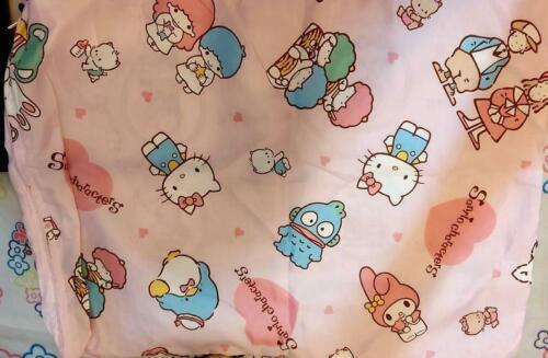 Sanrio Zashikibuta Little Twin Stars Goropikadon Pattern zipper Pillow Cover