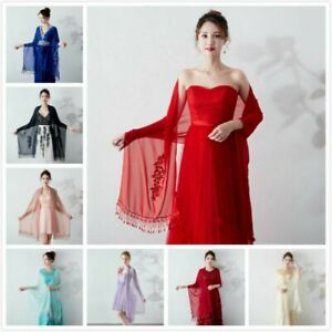 45c9ecc150053 Image is loading Bridal-Wedding-Wraps-Shawl-Lady-Banquet-Formal-Dress-