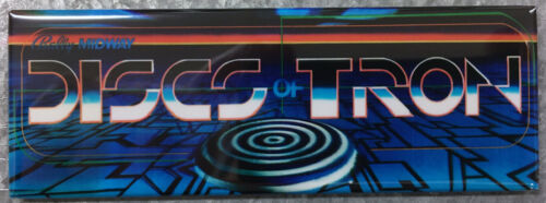 Discs Of Tron Arcade Game Marquee Fridge Magnet