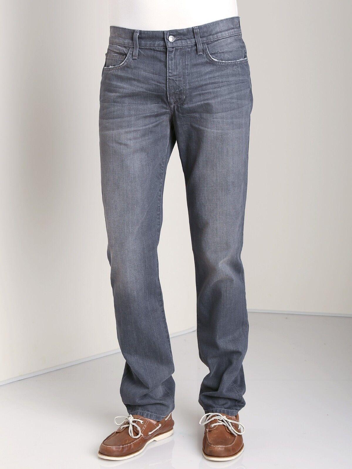 Nuova con Etichetta JOE'S Jeans Sz38 Sz38 Sz38 Brixton Dritto + Stretto Jaysen Grigio 1e434c