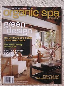 Superior Image Is Loading Organic Spa Magazine November 2010 Green Design Ultimate