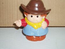FISHER PRICE  LITTLE PEOPLE /COWBOY FIGURE .(vintage 1997 )