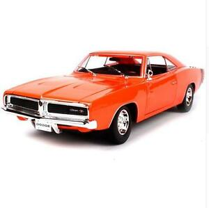 Maisto 1 18 1969 Dodge Charger R T Diecast Model Sports Racing Car