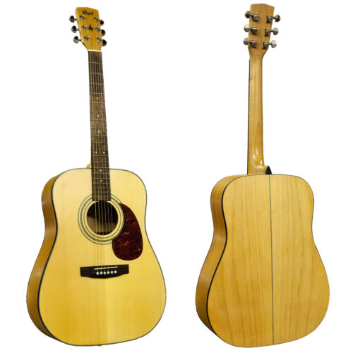 RRP £309 Buy Now £119 Cort Boston Acoustic Dreadnought Guitar D10 Spruce Top