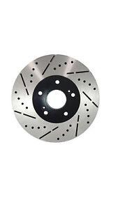 Front-Premium-Drill-amp-Slot-Brake-Rotors-Ceramic-Pad-Fit-2014-2015-BMW-328i-w-312mm