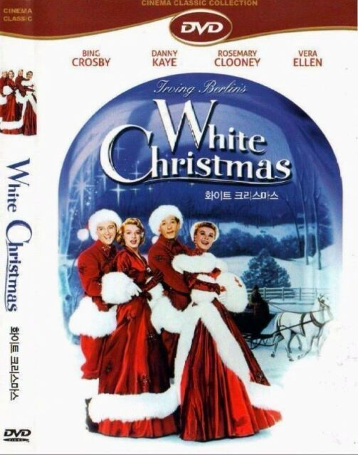 White Christmas DVD (1954) Bing Crosby, Danny Kaye, Rosemary Clooney