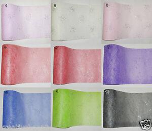 1 M Brillant Papier Vlies 25 Cm Creapop Tischband Basteln Dekoration 1075 Ebay