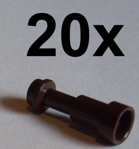 Lego 20x Fernrohr in dunkelbraun dark brown Fernglas Telescope 64644